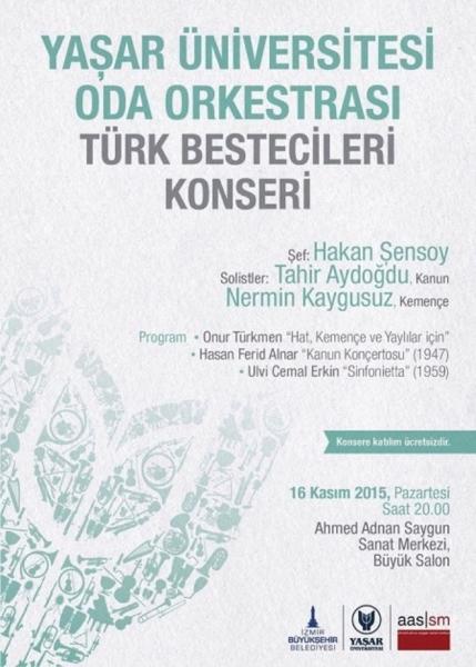 türk bestecileri konseri